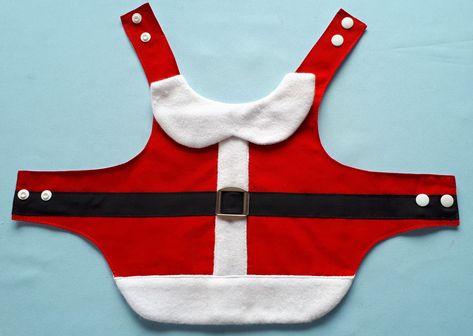 roupa pet natal, tamanhos 4 a 6. Fechamento com botão. Ver tabela de medidas.antes de fechar o pedido.