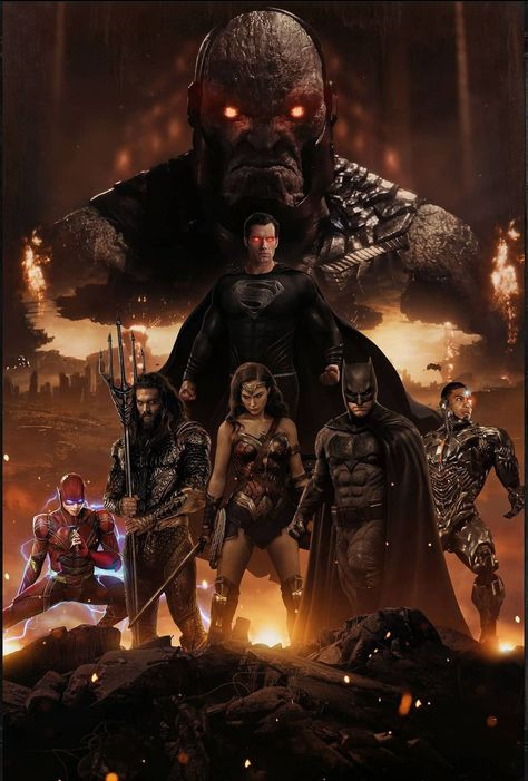 #The Zack Snyder Justice League Exclusive Wallpaper