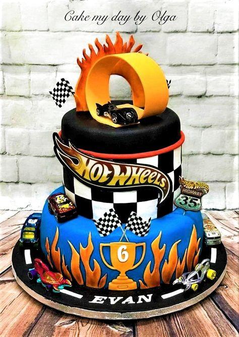 Fine 32 Great Image Of Hot Wheels Birthday Cake Davemelillo Co In Funny Birthday Cards Online Alyptdamsfinfo