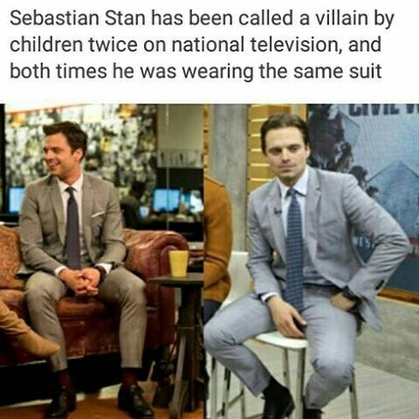 Wasn't exactly the same suit. But he looks good in anything.