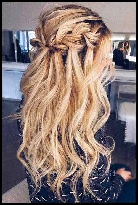 Wasserfall Locken Hochzeit Loki Pinterest Amazing Hair Frisuren Tutorials Hochzeitsfrisuren Ball Frisuren Frisur Hochzeit