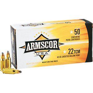 Armscor 22 Tcm Centerfire Ammunition In 2021 Armscor Ammunition Tcm