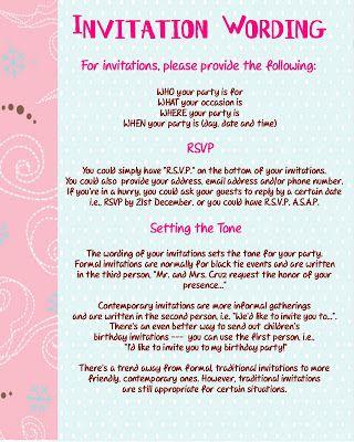 invitations birthday invitations