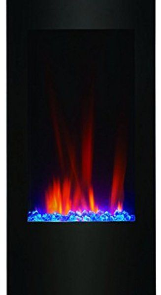 Wondrous Clevr Vertical Wall Mounted Electric Fireplace Heater Review Home Interior And Landscaping Analalmasignezvosmurscom