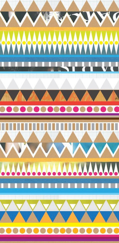 #Geometric #pattern #color #modern