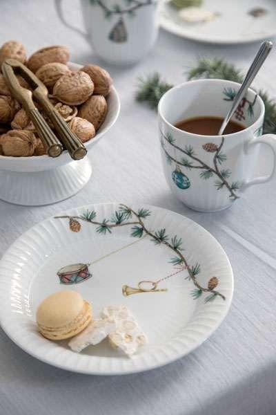 Porzellan Weihnachten.Kahler Design Hammershoi Weihnachten Jul