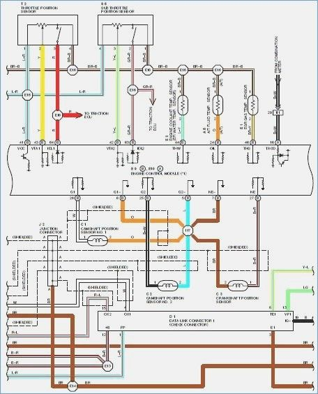 Wiring Diagram Toyota Wish Electrical Wiring Diagram
