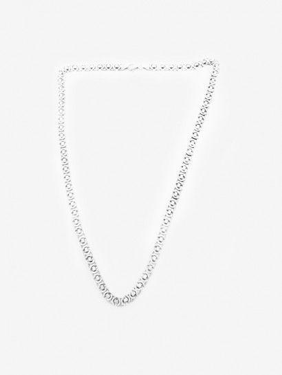 سلسله فضة عيار 925 سلسلة يورو صغير فضة ايطالى Silver Necklace Necklace Silver