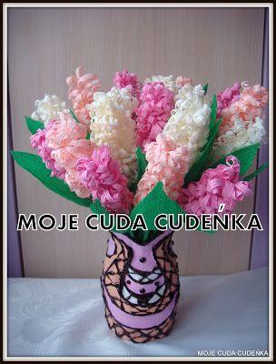 Hiacynty Z Krepiny Flower Making Crepe Paper Paper Art
