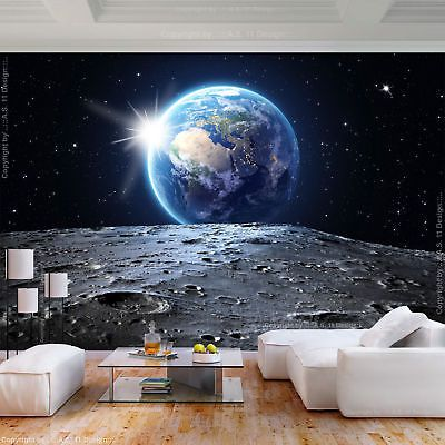 Vlies Fototapete Weltraum Welt Kosmos 3d Effekt Tapete Wohnzimmer Wandbilder Xxl Fototapete Tapete Wohnzimmer Tapeten Wandbilder
