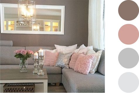 Pretty Pastels 9 Design Ideas For Your Living Room Parfait - wohnzimmer grau rosa