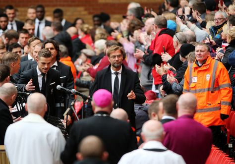 Jurgen Klopp Photos Photos: Anfield Marks the Anniversary of the Hillsborough Disaster for the Final Time