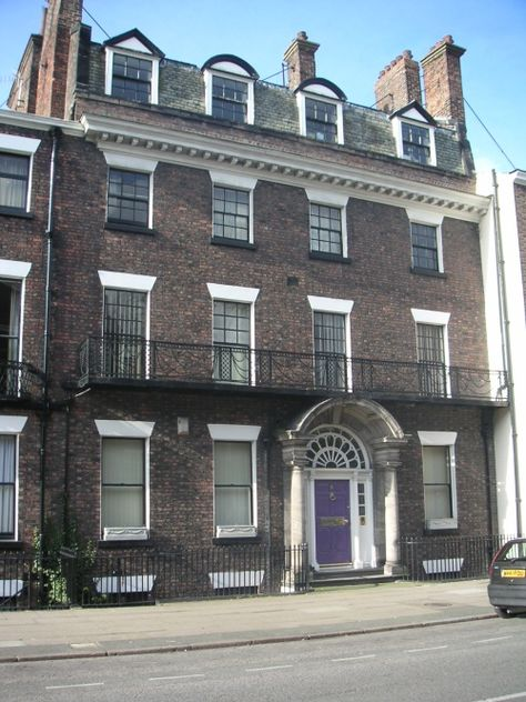 Rodney Street Known As Liverpools Harley Street Due To The Amount