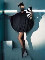 Elegance as a form / Vogue Italia, July 2008 ph. Steven Meisel fashion editor: Camilla Nickerson hair: Guido make-up: Pat McGrath model: Yasmin Warsame