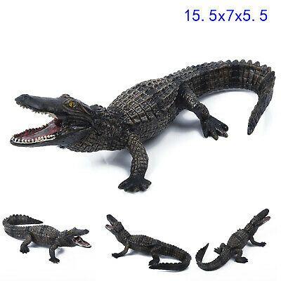 Animal Model Crocodile Kids Toy Figure Solid Plastic Wild Zoo Display Baby Show