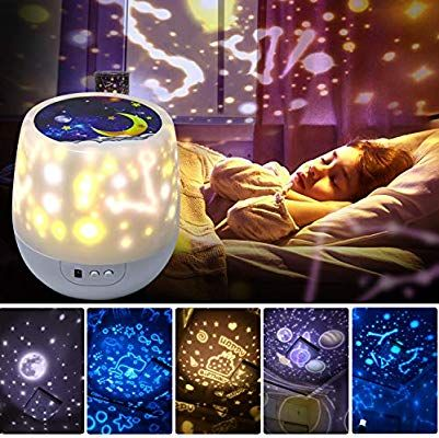 Shayson Night Lights For Kids Universe 360 Rotating Star Projector