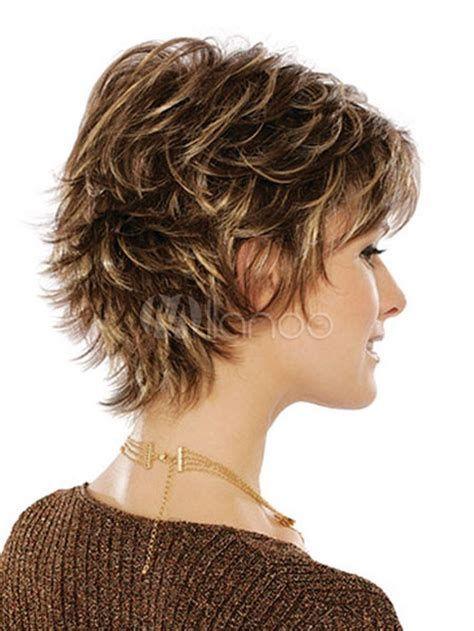 Image Result For Short Shag Hairstyles For Women Over 50 Back Veiws Bunhairstyletips Short Hair Styles Short Shag Hairstyles Short Shag Haircuts