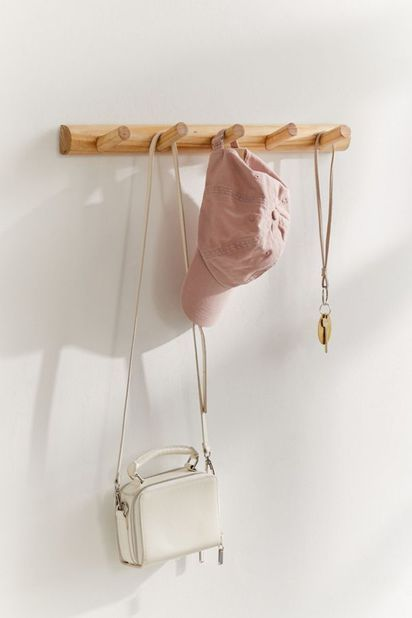 Let S Hook Up 22 Cool Wall Hooks To Keep You Organized Diy Wall