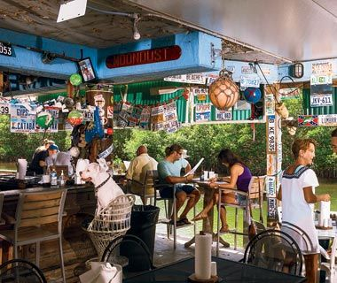 Alabama Jack's is an Old Florida bar and grill on Card Sound Road near the toll bridge to North Key Largo. | Florida Day Trips | Pinterest | Alabama, ...