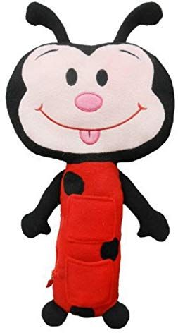 Seat Pets Ladybug By Jay At Play A As Seen On Tv Kids Seat Belt Car Travel Pillow And Plush Animal Toy A Compa Animal Plush Toys Car Seat Toys