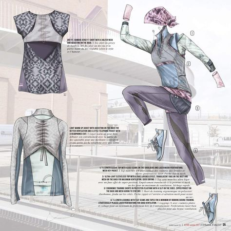 Inmouv - Active Sport Fashion S/S 2017, Trend Forecast for Activewear