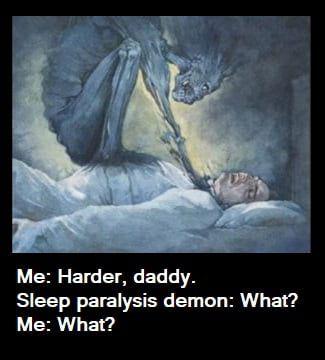 Sleep Paralysis Demons 3 With Images Sleep Paralysis Sleep