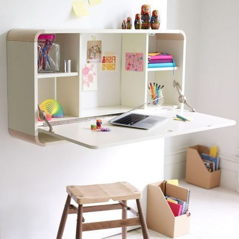 Small Childrens Desk Kids Room Ideas Kidsdeskideas Kidsdesk Kidsdeskarea Fold Away Desk Girl Bedroom Walls Space Saving Desk
