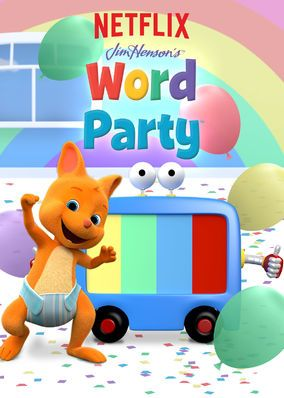 Image Result For Netflix Word Party Birthday Words Party 1st Birthday