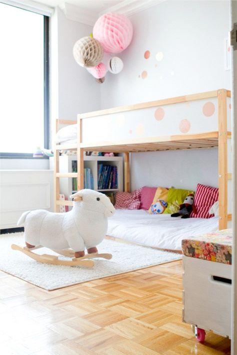 Letto A Castello Ikea Kura.Girls Room Ikea Kura Bed Letto Kura Camera Da Letto Bambini