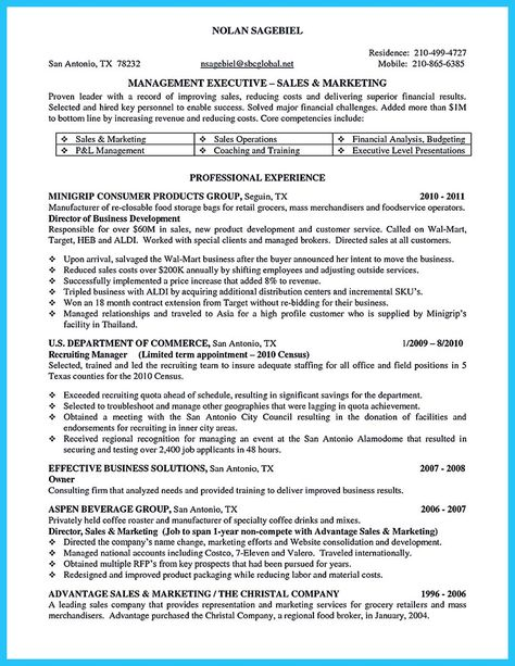 RONALD ZEHRFELD - Arbeitsblatt zur gleichnamigen PPt-Präsentation - beverage merchandiser sample resume