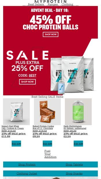 Stay Strong This Season Sale On Myprotein Email Archive Sale Emails Protein Ball Stay Strong