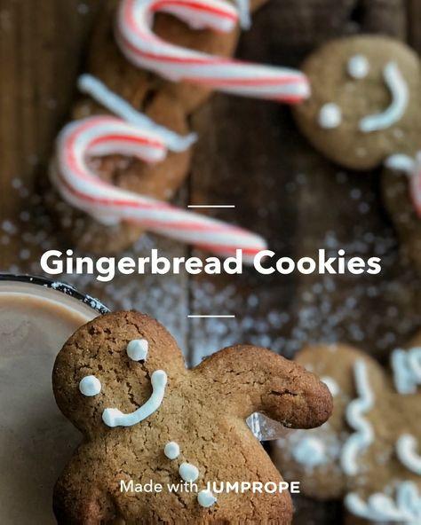 #jumpropecreators #madeonjumprope #jumpropeapp #jumprope  #christmascrafts #diychristmas #christmasideas #christmas #christmassnacks #christmastreats #christmasrecipes #christmascookies #holiday #christmascrecipes #cookies #holidaycookies #gingerbreadmancookies #desserts #cookingmethod #baking #bakingparty