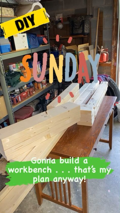 DIY Building Project Workbench