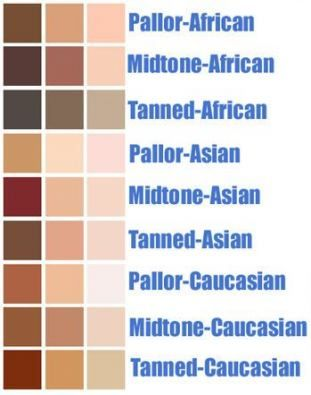 32 New Ideas Skin Illustration Photoshop Tutorial Skin Color Palette Colors For Skin Tone Asian Skin Tone