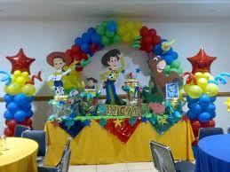 Decoración Con Globos Con Toy Story