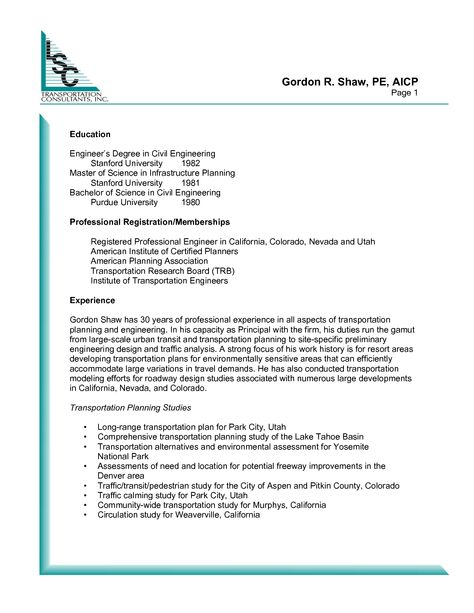 Civil Engineer Resume Samplecareer Resume Template Career Resume Template