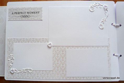 Hochzeitsalbum Wedding Album Hochzeit Weiß Edel Gestaltung