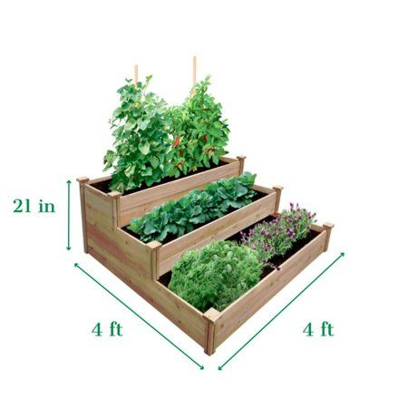 Patio Garden With Images Vegetable Garden Raised Beds