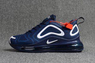 Mens Nike Air Max 720 Kpu Running Shoes Navy Blue White