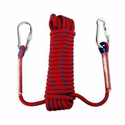 Yolyoo Outdoor Climbing Rope 10Mm Static Rock Climbing Rope High Strength Access