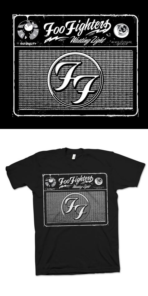Foo Fighters Merch Design by Jeremy Packer, via Behance