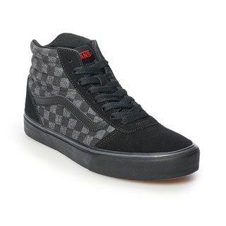 Vans Hi Men's Checkered Skate Shoes