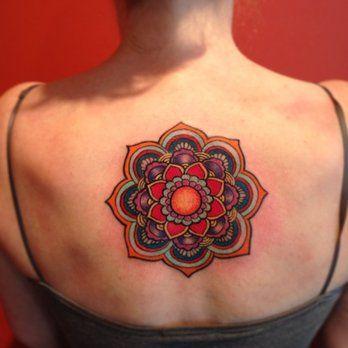 Mandala tattoo by Laura | Yelp