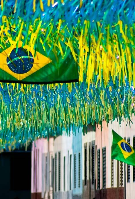 Rua Decorada Para Copa Do Mundo Decoracao Copa Do Mundo Copa