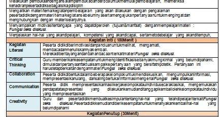 Rpp Bahasa Indonesia 1 Lembar Kelas 9 Semester 1 Dan 2 Revisi 2020 Bahasa Bahasa Indonesia Indonesia