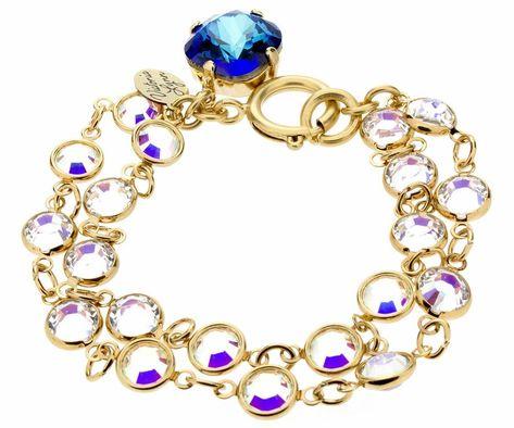 12mm Fancy Double Rollo Bracelet - White Opal