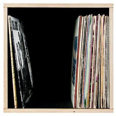 Flea Market Vinyl Record Storage Box 100 Record Storage Box Vinyl Record Storage Box Vinyl Record Storage