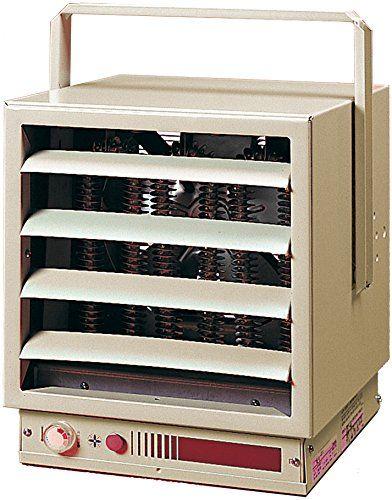 Dimplex Euh03b34ct 3 Kilowatt 240 208 Volt 1 3 Phase Industrial Unit Heater Electric Fan Heating Element Ceiling Hangers