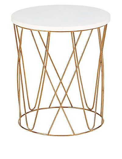 Delightful Lena Copper Side Table | Copper Side Table, Living Rooms And Copper Coffee  Table