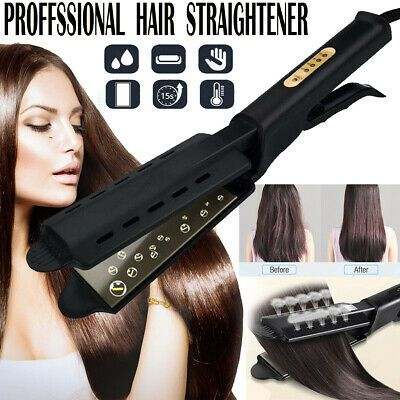 Ad Four Gear Ceramic Tourmaline Ionic Flat Iron Hair Straightener Salon Glider Ho In 2020 Hair Straightening Iron Flat Iron Hair Styles Hair Straighteners Flat Irons